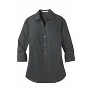 Port Authority | ® Ladies 3/4-Slv Carefree Poplin