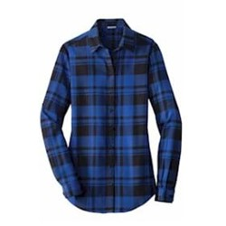 Port Authority | Port Authority® Ladies Plaid Flannel Tunic