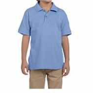 Harriton | Harriton 6 oz Cotton Pique Youth Short-Sleeve Polo