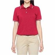Harriton | Harriton LADIES' 5.6oz. Tipped Easy Blend Polo