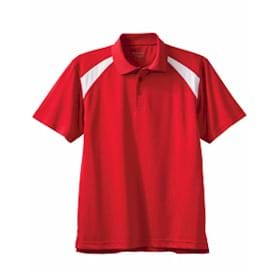 Harriton 4oz. Polytech Colorblock Polo