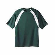 Harriton | Harriton 4.2oz Athletic Sport Colorblock T-Shirt
