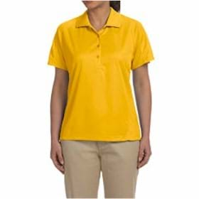 Harriton LADIES' 3.8oz. Polytech Mesh Insert Polo