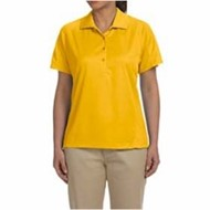 Harriton | Harriton LADIES' 3.8oz. Polytech Mesh Insert Polo