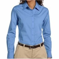 Harriton | Harriton LADIES' 3.1oz Essential Poplin