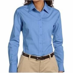 Harriton | LADIES' 3.1oz Essential Poplin
