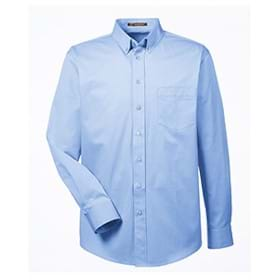 Harriton Foundation LS Twill Shirt with Teflon™