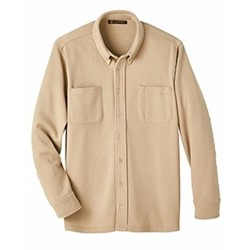 Harriton | Harriton StainBloc™ Pique Fleece Shirt-Jacket