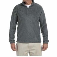 Harriton | Quarter-Zip Fleece Pullover