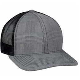Outdoor Cap | Outdoor Cap Plaid Front Mesh Back Cap