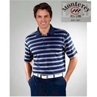 Monterey Club | Monterey Club Dry Swing Pique Stripe Shirt