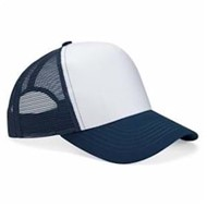 Mega Cap | Mega Cap 5 Panel PET Mesh Back Trucker Cap
