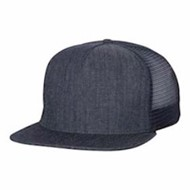 Mega Cap | Mega Cap Flat Bill 5-Panel Trucker Cap