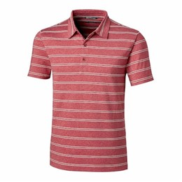 Cutter & Buck | C&B Forge Polo Heather Stripe Tailored Fit