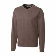 Cutter & Buck | Cutter & Buck L/S Pima Decatur V-Neck