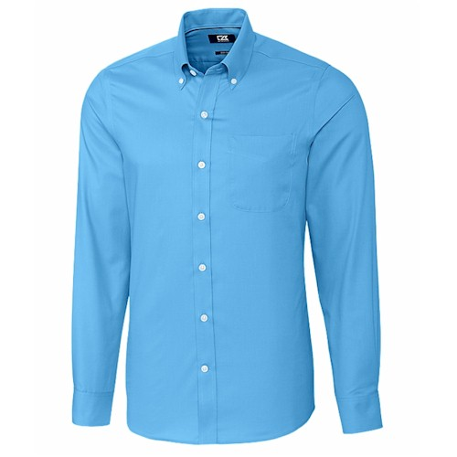 Cutter & Buck L/S Tailored Fit Fine Twill Shirt