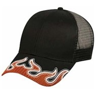 Outdoor Cap | Outdoor Cap Mesh Visor Flame Cap