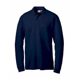 L/S Clique by Cutter & Buck Evans Easy Care Polo