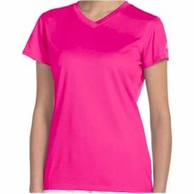 New Balance LADIES' Ndurance V-Neck T-Shirt