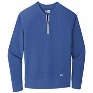 New Era | New Era Sueded Cotton Blend 1/4-Zip Pullover