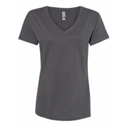 Next Level | Ladies Fine Jersey Relaxed V T-Shirt