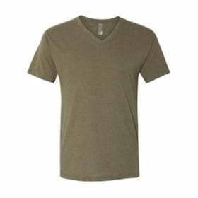 Next Level Triblend V-Neck T-Shirt
