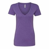Next Level | Next Level LADIES' CVC Deep V-Neck Shirt