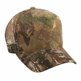 Outdoor Cap High Profile Mesh Back Camo Cap