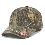 Outdoor Cap | Outdoor Cap Realtree Girl Visor Logo Cap
