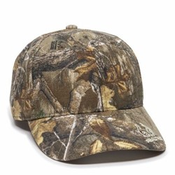 Outdoor Cap | Outdoor Cap Team Realtree Visor Logo Cap