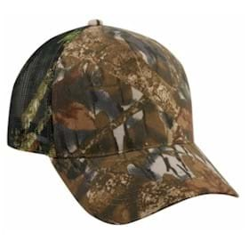Outdoor Cap 5 Panel Mesh Back Camo Cap