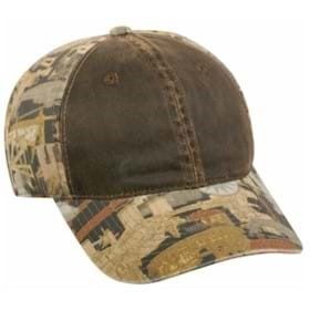 Outdoor Cap Oilfield Camo w/ Weathered Cotton Cap