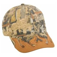Outdoor Cap | Outdoor Cap Oilfield Camo with DUK Flame Visor Cap