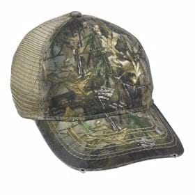 Outdoor Cap Oil Stained and Heavy Washed Cap