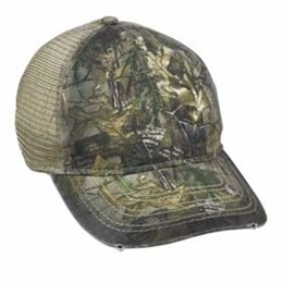 Outdoor Cap | Outdoor Cap Oil Stained and Heavy Washed Cap