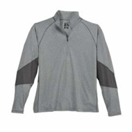 Page & Tuttle | Page & Tuttle Coverstitch Jersey 1/4 Zip Pullover