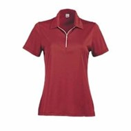 Page & Tuttle | Page & Tuttle LADIES' Two-Tone Stripe Jersey Polo
