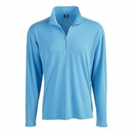 Page & Tuttle | Page & Tuttle Contrast Stitch 1/4 Zip Pullover
