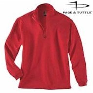 Page & Tuttle | Page & Tuttle LADIES' Textured Quarter Zip