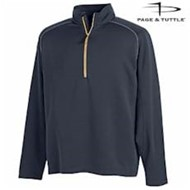Page & Tuttle | Page & Tuttle Half-Zip Interlock Pullover