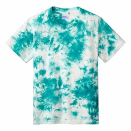 Port Authority | Port & Company ® Youth Crystal Tie-Dye Tee