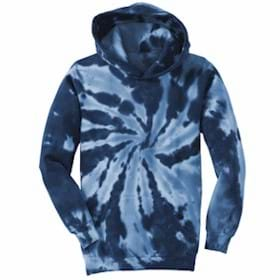 Port Authority YOUTH Tie-Dye Hooded Sweatshirt