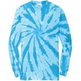 Port & Company® Tie-Dye Long Sleeve Tee