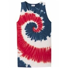 Port Authority | Port & Company® Tie-Dye Tank Top