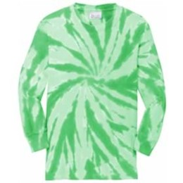 Port Authority | Port & Company® Youth Tie-Dye Long Sleeve Tee