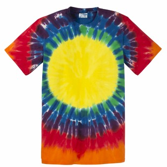 Port & Company Essential Window Tie-Dye Tee