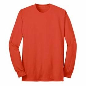 Port & Company L/S 50/50 Cotton/Poly T-Shirt