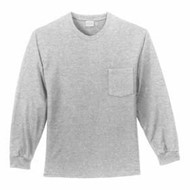 Port Authority | L/S Port & Company Pocket T-Shirt