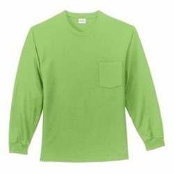 Port Authority | Port & Company TALL L/S T-Shirt w/ Pocket