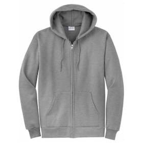Port Authority 7.8oz Full Zip Hooded Sweatshirt